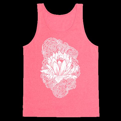 Lotus Flower Tank Top