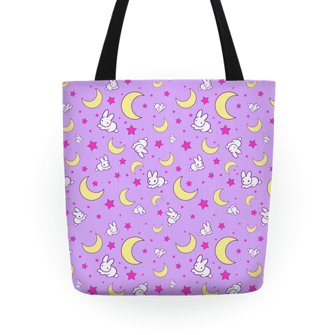 Sailor Moon's Bedding Pattern Tote