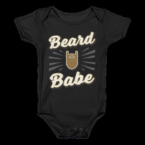 Beard Babe Baby Onesy