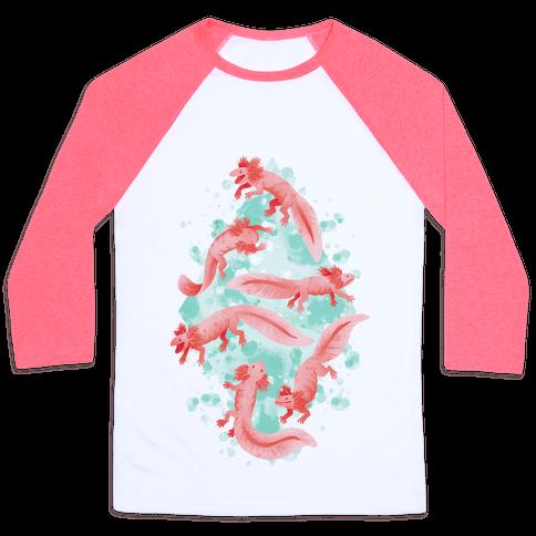 Cute Pastel Axolotls