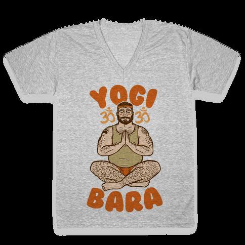 Yogi Bara V-Neck Tee Shirt