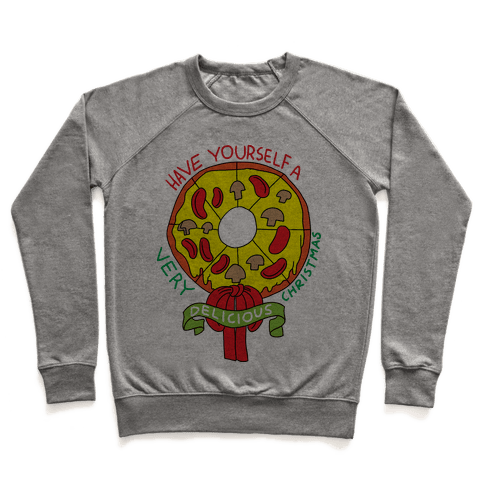 PIZZA WREATH Pullover