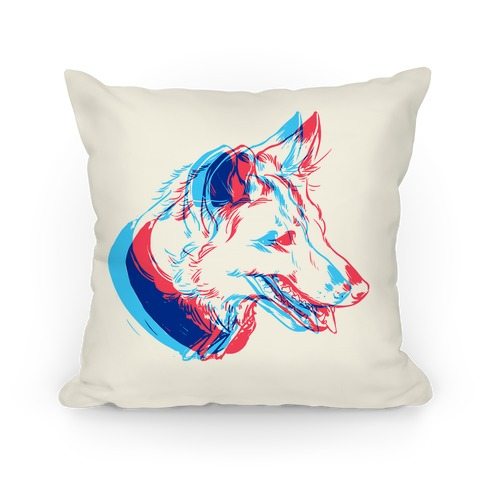 3D Dog Head Pillow