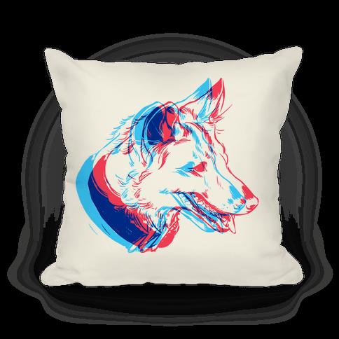 3D Dog Head Pillow