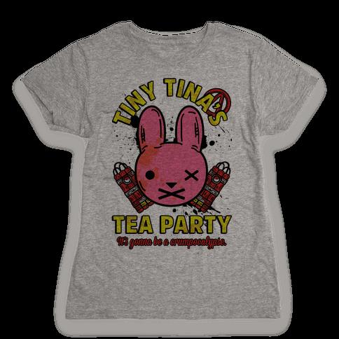 Tiny Tina's Tea Party Womens T-Shirt