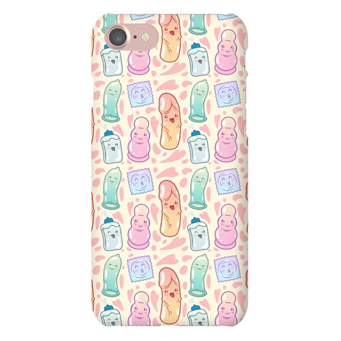Cute Sex Toy Pattern Phone Case