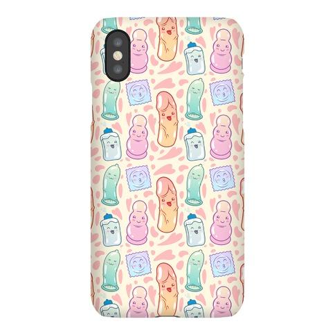 Cute Sex Toy Pattern Phone Case