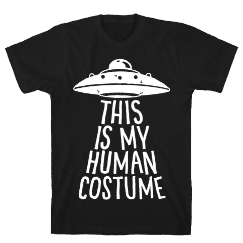 This is My Human Costume Mens T-Shirt