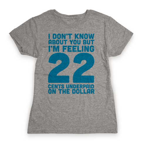I'm Feeling 22 Womens T-Shirt