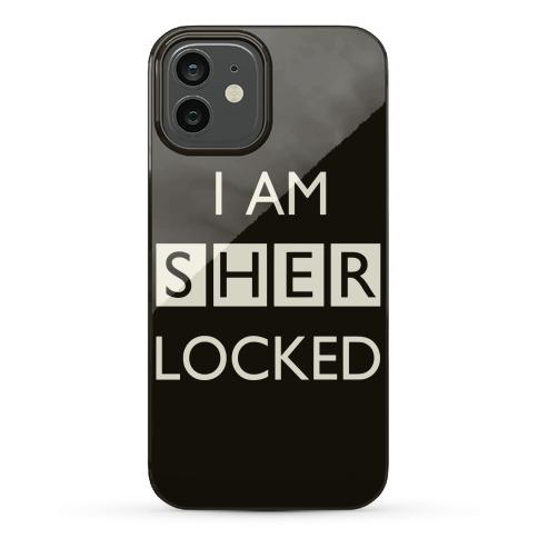 I Am Sherlocked Phone Case