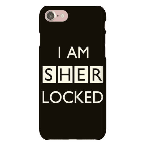 I Am Sherlocked Phone Case