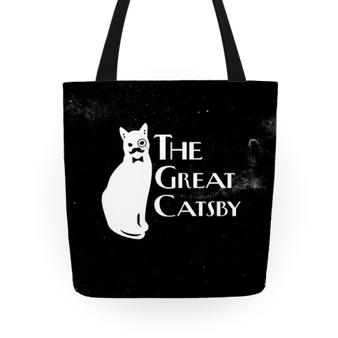The Great Catsby Tote