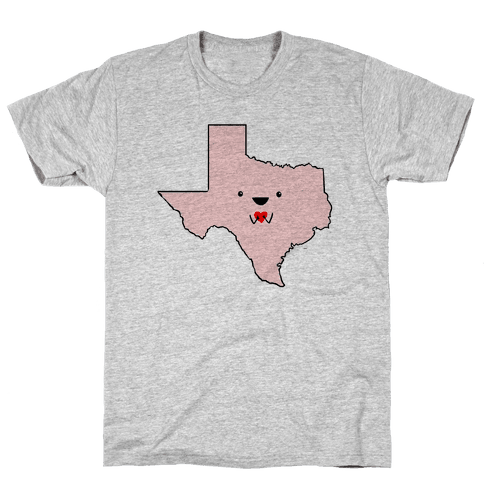 Cutie Texas Mens T-Shirt