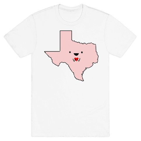 Cutie Texas Mens T-Shirt