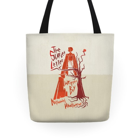 The Scarlet Letter Tote