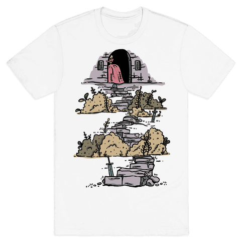 Castle Steps Mens T-Shirt
