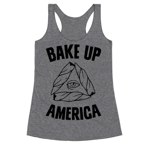Bake Up America Racerback Tank Top