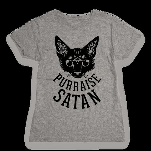 Purraise Satan Womens T-Shirt