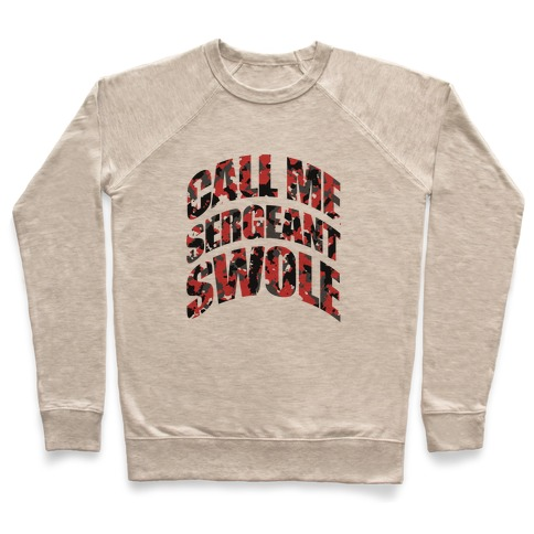 Sergeant Swole (Red) Pullover