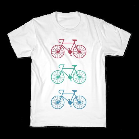 Bikes! Kids T-Shirt