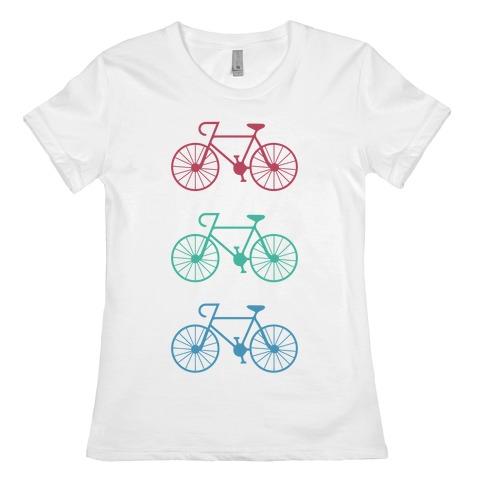 Bikes! Womens T-Shirt