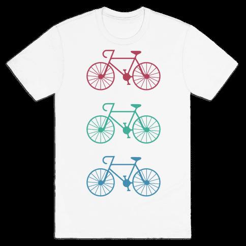Bikes! Mens T-Shirt
