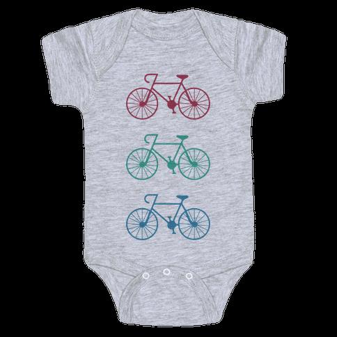 Bikes! Baby Onesy