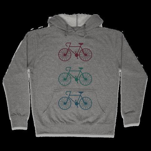 Bikes! Hooded Sweatshirt