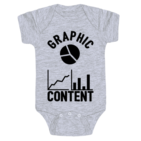Graphic Content Baby Onesy