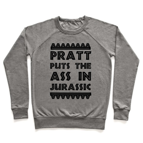Pratt Puts the Ass in Jurassic Pullover