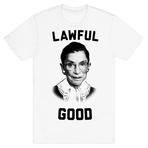 Lawful Good (Ruth Bader Ginsberg) Mens T-Shirt