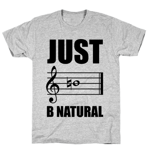 Just B Natural Mens T-Shirt