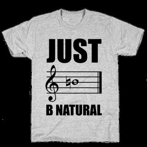 Just B Natural Mens T-Shirt