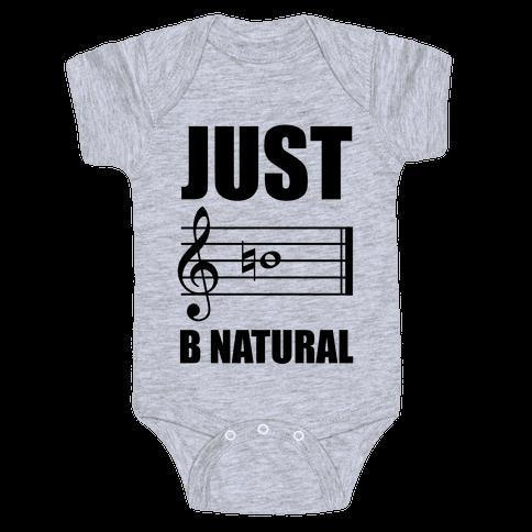 Just B Natural Baby Onesy