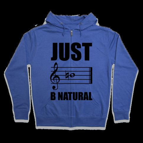 Just B Natural Zip Hoodie