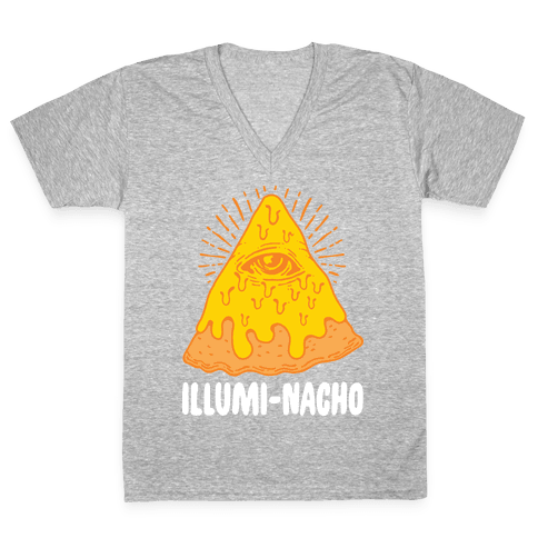 Illumi-Nacho V-Neck Tee Shirt