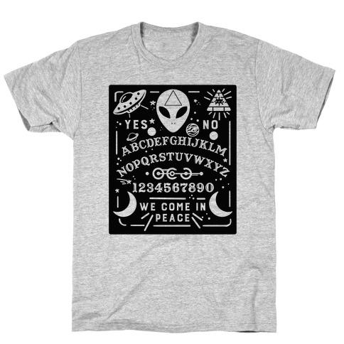 Occult Alien Ouija Board T-Shirt