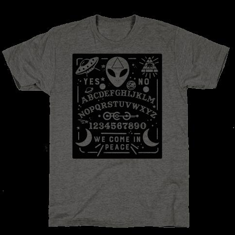 Occult Alien Ouija Board Mens T-Shirt