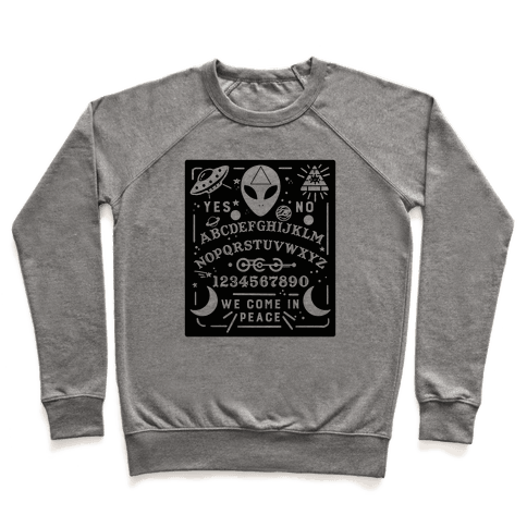 Occult Alien Ouija Board Pullover