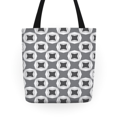Checker Pattern Tote Tote