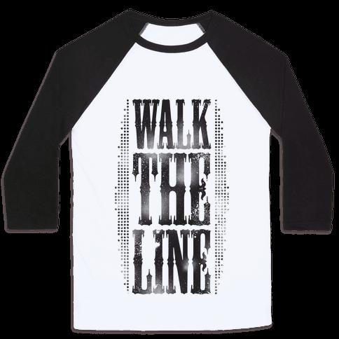 Walk The Line (Tank) Baseball Tee