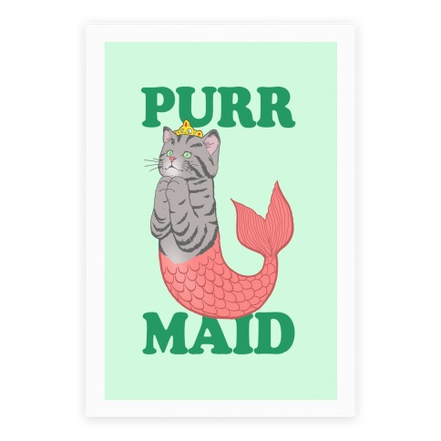 Purr Maid Poster