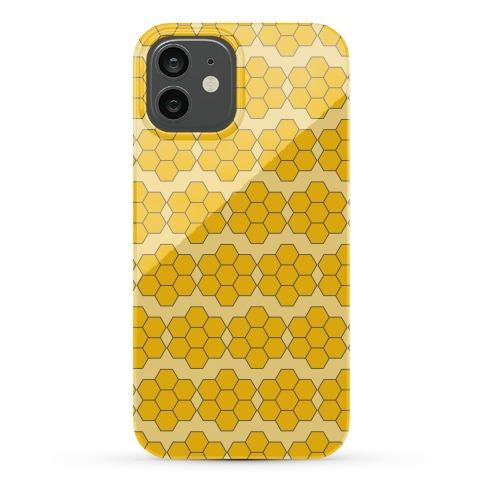Honey Comb Pattern Phone Case