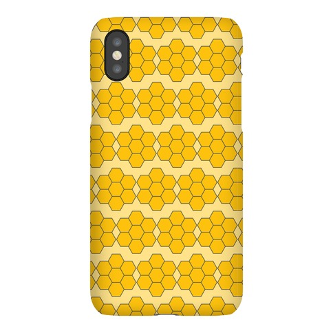 Honey Comb Pattern Phone Case