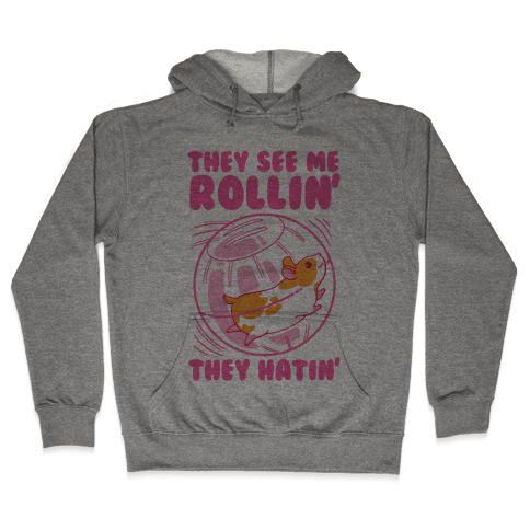 They See Me Rollin' They Hatin Hooded Sweatshirt