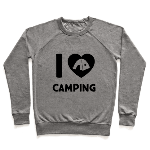 I Heart Camping Pullover