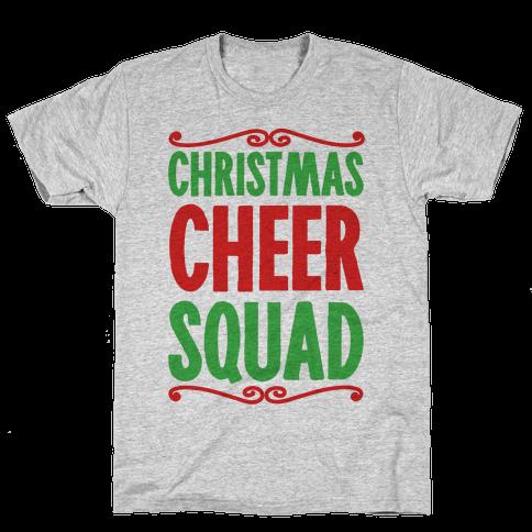 Christmas Cheer Squad Mens T-Shirt