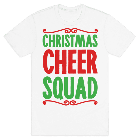Christmas Cheer Squad Mens T-Shirt