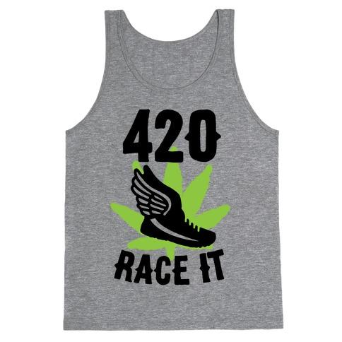 420 Race It Tank Top