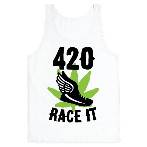 420 Race It Tank Top